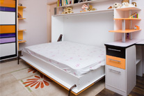 Folding bed-up
