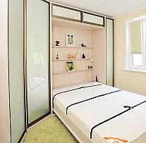 Кровать встроенная   фото