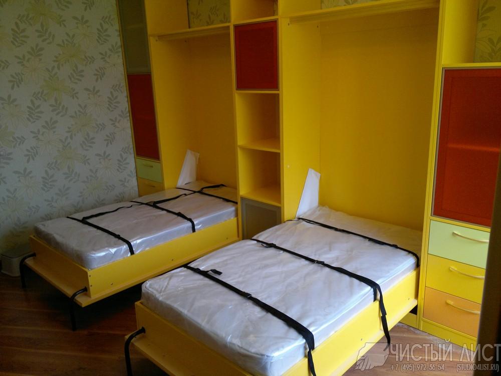 Откидные детские кровати фото
